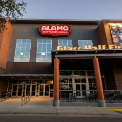 The Alamo Drafthouse Lakeline location in Austin, Texas.